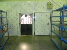 Монтаж холодильные камеры общим объемом-1100 м³ с комплектом холодильного оборудования._10