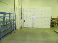 Монтаж холодильные камеры общим объемом-1100 м³ с комплектом холодильного оборудования._11