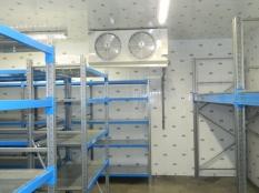 Монтаж холодильные камеры общим объемом-1100 м³ с комплектом холодильного оборудования._12