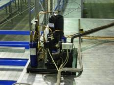 Монтаж холодильные камеры общим объемом-1100 м³ с комплектом холодильного оборудования._16