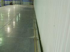 Монтаж холодильные камеры общим объемом-1100 м³ с комплектом холодильного оборудования._17