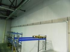 Монтаж холодильные камеры общим объемом-1100 м³ с комплектом холодильного оборудования._18