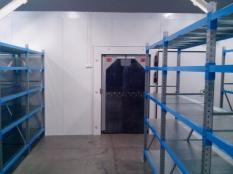Монтаж холодильные камеры общим объемом-1100 м³ с комплектом холодильного оборудования._3