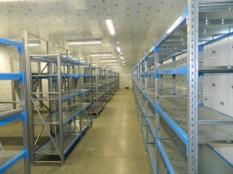 Монтаж холодильные камеры общим объемом-1100 м³ с комплектом холодильного оборудования._6