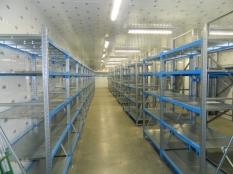 Монтаж холодильные камеры общим объемом-1100 м³ с комплектом холодильного оборудования._8
