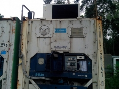 Монтаж низкотемпературного агрегата на морской контейнер._10