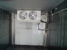 Монтаж низкотемпературного агрегата на морской контейнер._1