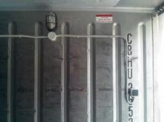 Монтаж низкотемпературного агрегата на морской контейнер._5