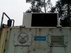 Монтаж низкотемпературного агрегата на морской контейнер._7