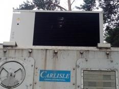Монтаж низкотемпературного агрегата на морской контейнер._8