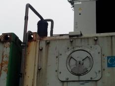 Монтаж низкотемпературного агрегата на морской контейнер._9