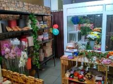 Цветочный магазин, холодильная камера на моноблоке (встроенный холод)