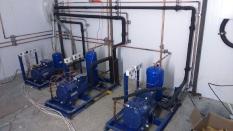Склад хранения готовой продукции (СГП), среднетемпературные и низкотемпературные холодильные камеры (выносной холод).