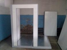 Монтаж холодильной камеры POLAIR объемом-6,61 м³ с моноблоком._1