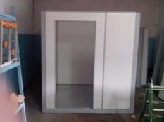 Монтаж холодильной камеры POLAIR объемом-6,61 м³ с моноблоком.