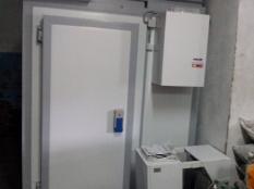 Монтаж холодильной камеры POLAIR объемом-6,61 м³ с моноблоком._3