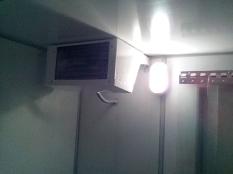 Монтаж холодильной камеры POLAIR объемом-6,61 м³ с моноблоком._4